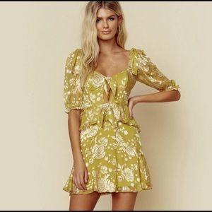 For Love And Lemons Cosmo Mini Dress